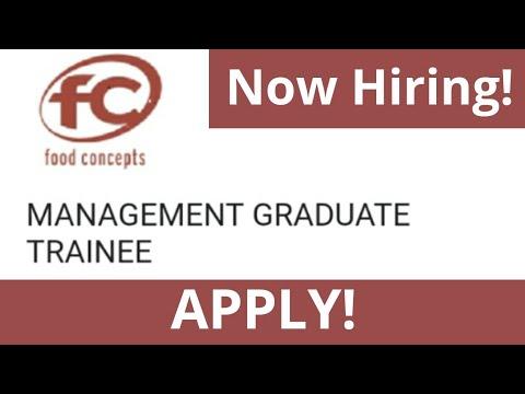 Management Graduate Trainee Recruitment