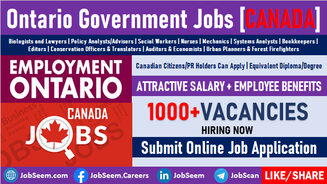 Government of Canada Opportunities